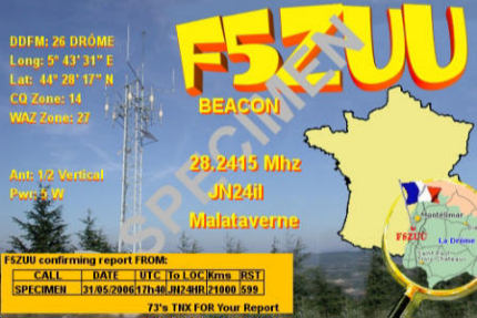 QSL image for F5ZUU