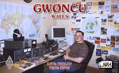 QSL image for GW0NCU