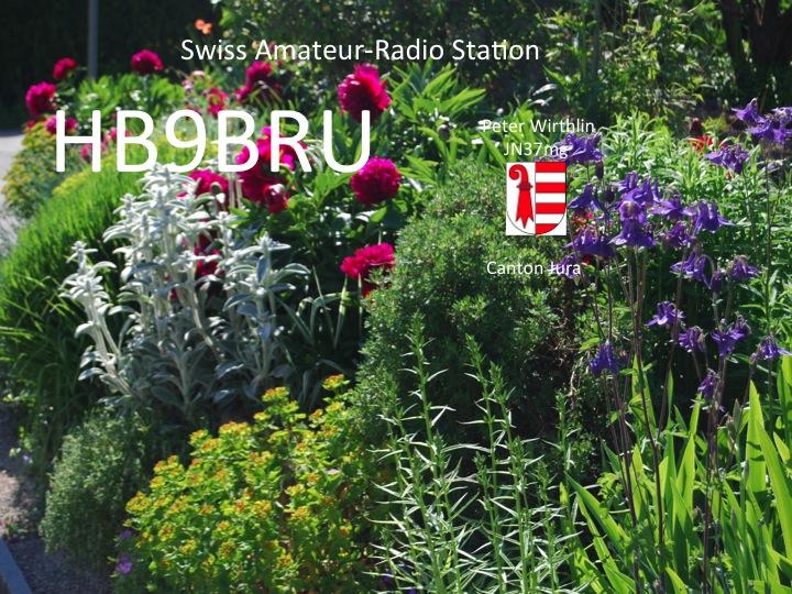 QSL image for HB9BRU