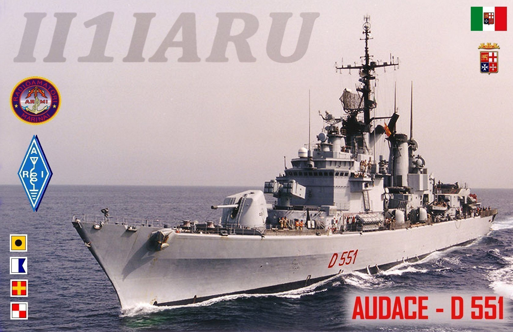 QSL image for II1IARU
