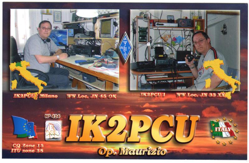 QSL image for IK2PCU