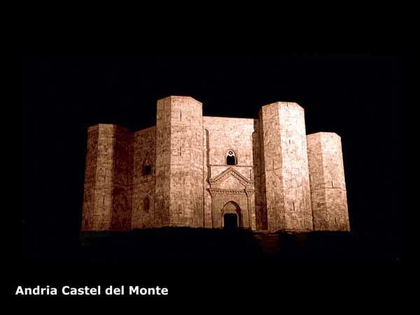 CASTEL DEL MONTE (XI Secolo)/ MOUNTAIN CASTLE (XI CENTURY)