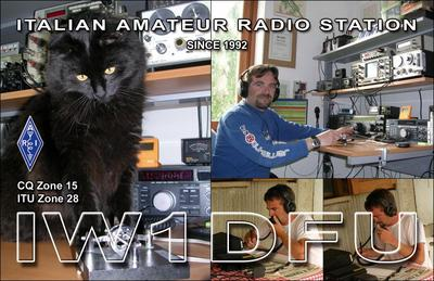 QSL image for IW1DFU
