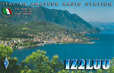 QSL image for IZ2LUU