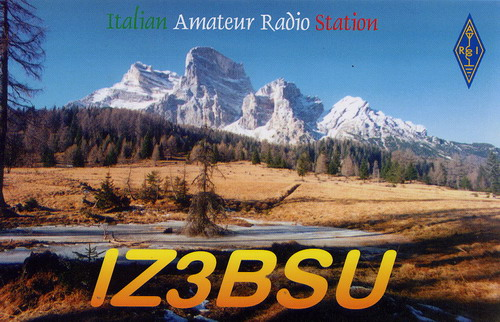 QSL image for IZ3BSU