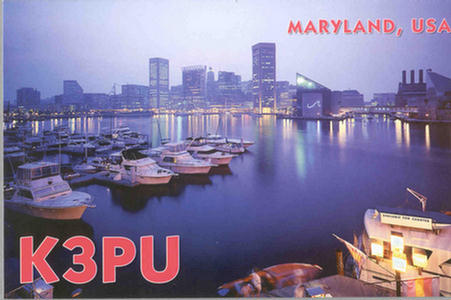 QSL image for K3PU