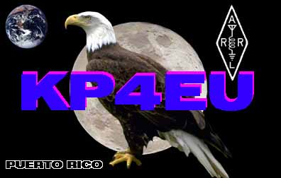 QSL image for KP4EU