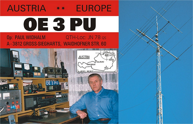 QSL image for OE3PU