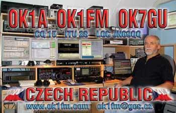 QSL image for OK7GU