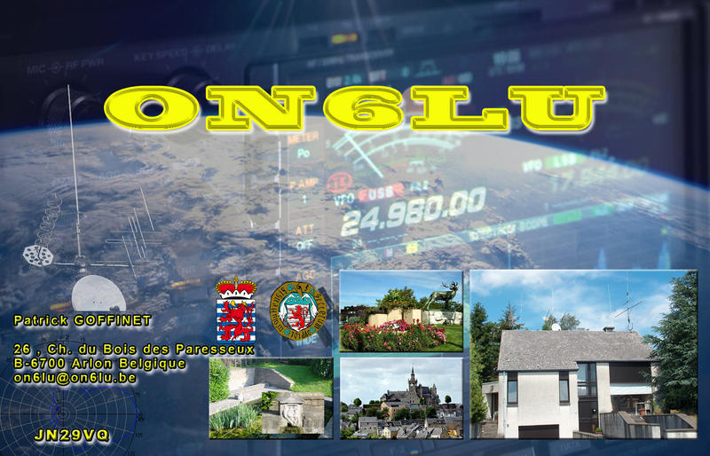 QSL image for ON6LU