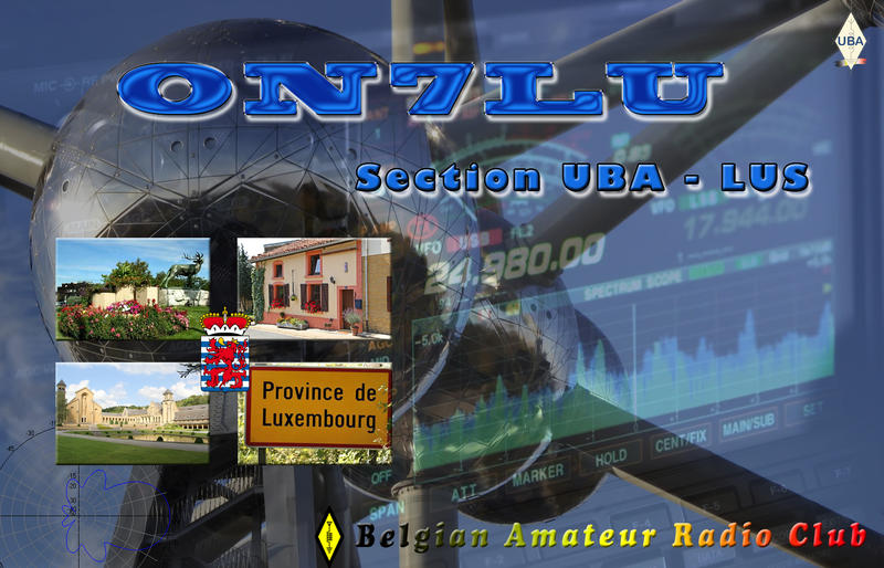 QSL image for ON7LU