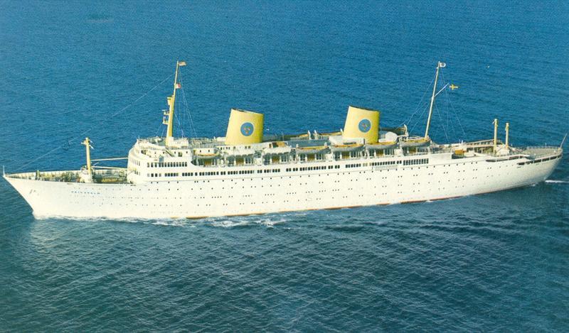 SM6CMU/MM aboard SS Gripsholm/SLQT 1966-1973