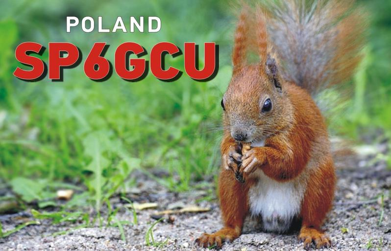 QSL image for SP6GCU