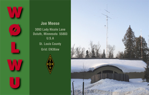 QSL image for W0LWU