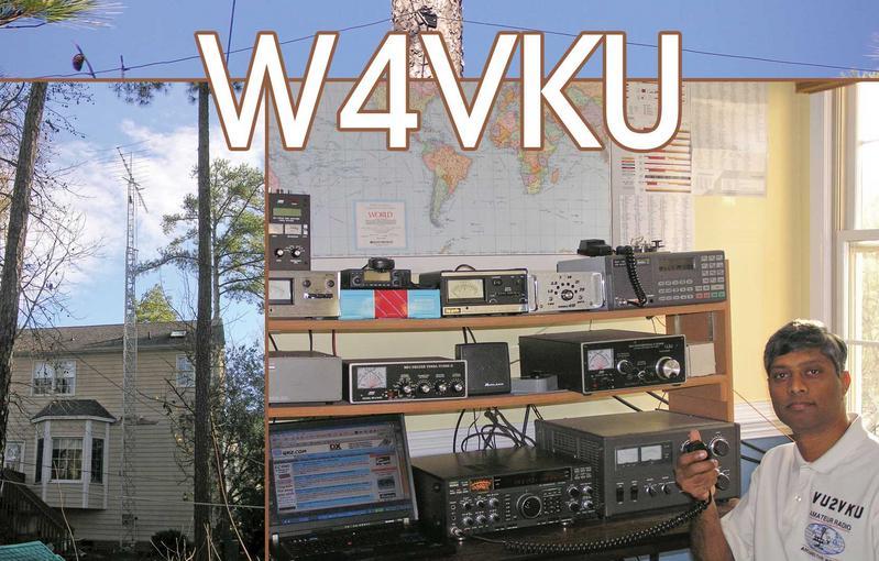 QSL image for W4VKU