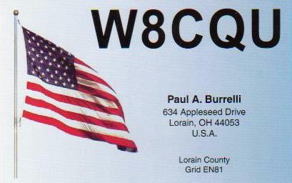 QSL image for W8CQU