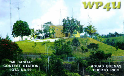 QSL image for WP4U