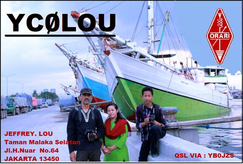 QSL image for YD0LOU