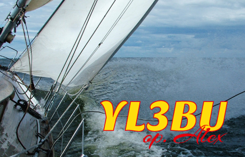QSL image for YL3BU