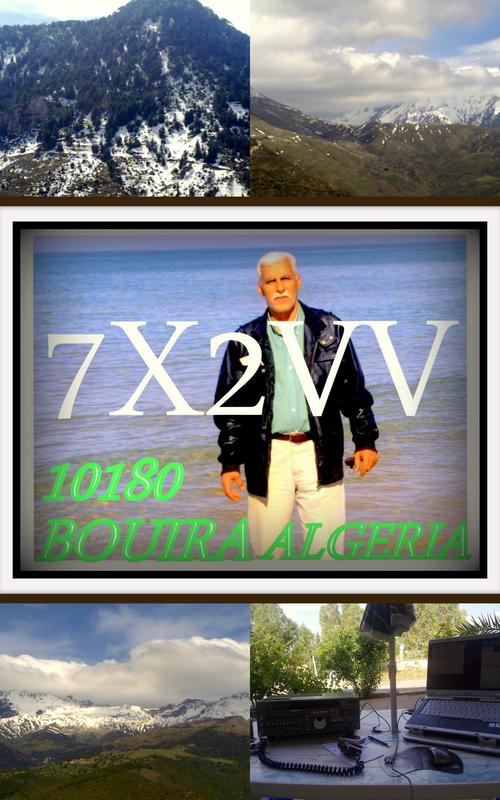 QSL image for 7X2VV