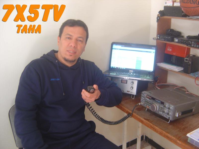 QSL image for 7X5TV