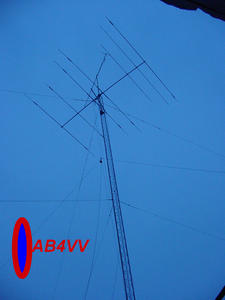 QSL image for AB4VV