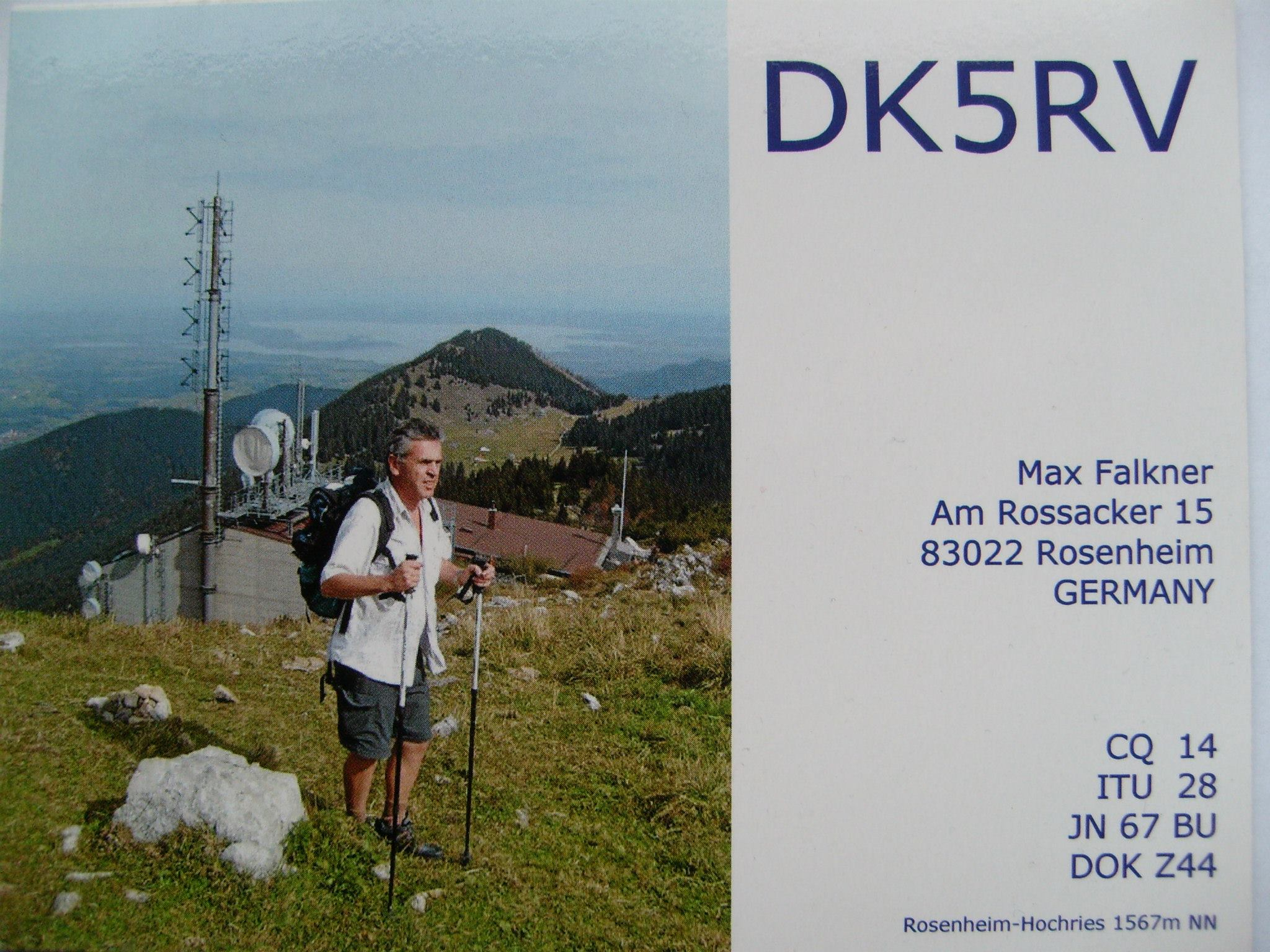 QSL image for DK5RV
