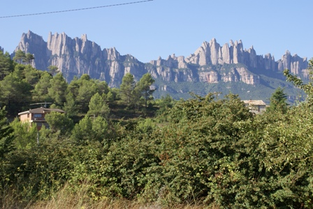 Mountain of Monserrat