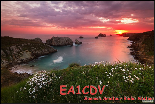 QSL image for EA1CDV