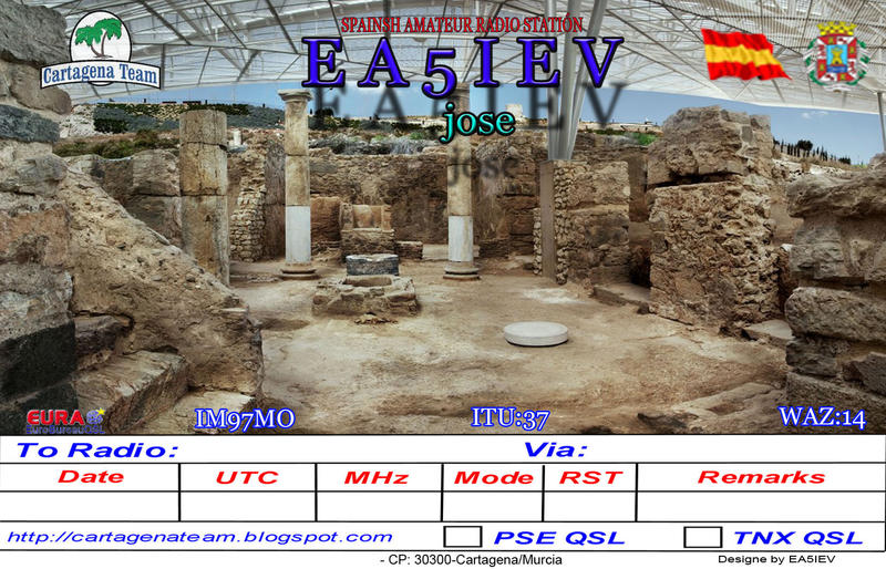 QSL image for EA5IEV