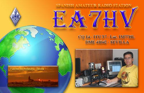 QSL image for EA7HV
