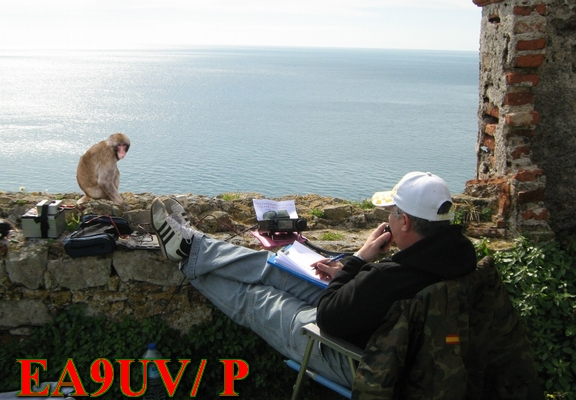 QSL image for EA9UV