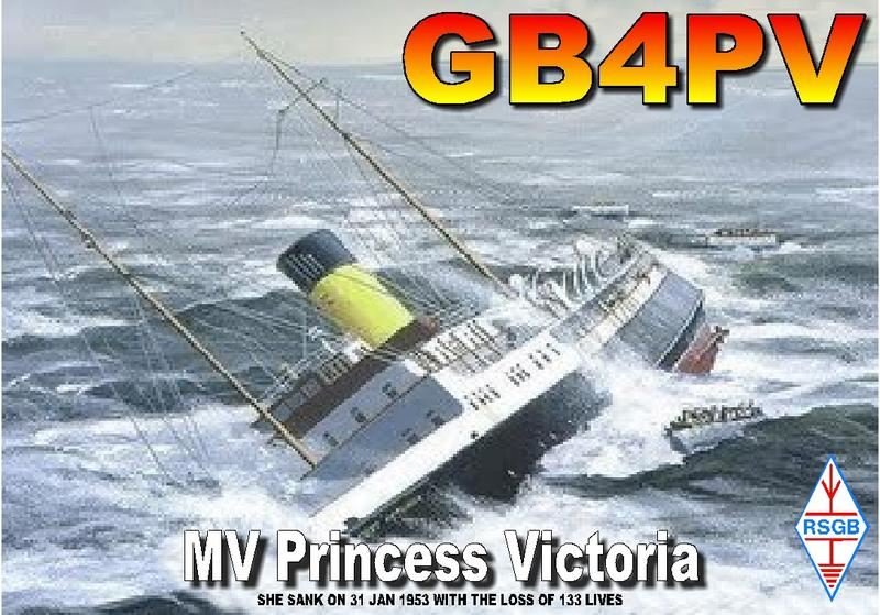 QSL image for GB4PV