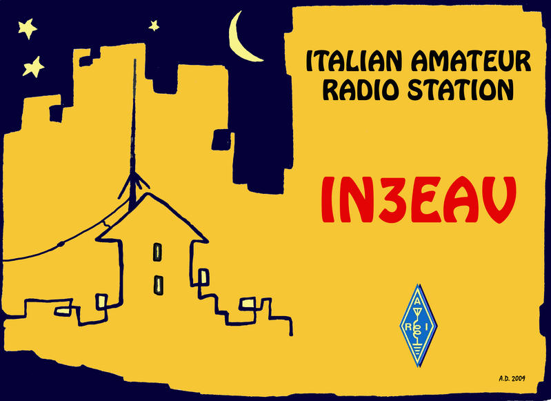 QSL image for IN3EAV