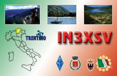 QSL image for IN3XSV
