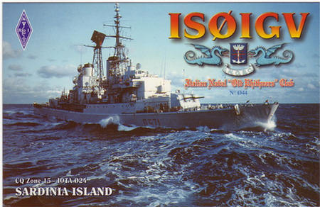 QSL image for IS0IGV