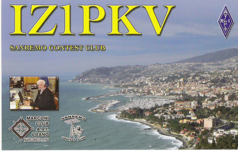 QSL image for IZ1PKV