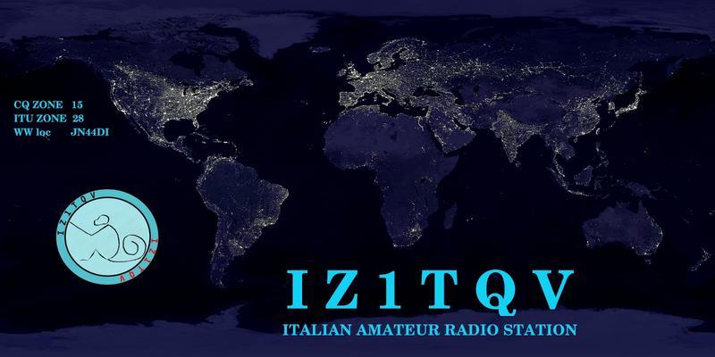 QSL image for IZ1TQV