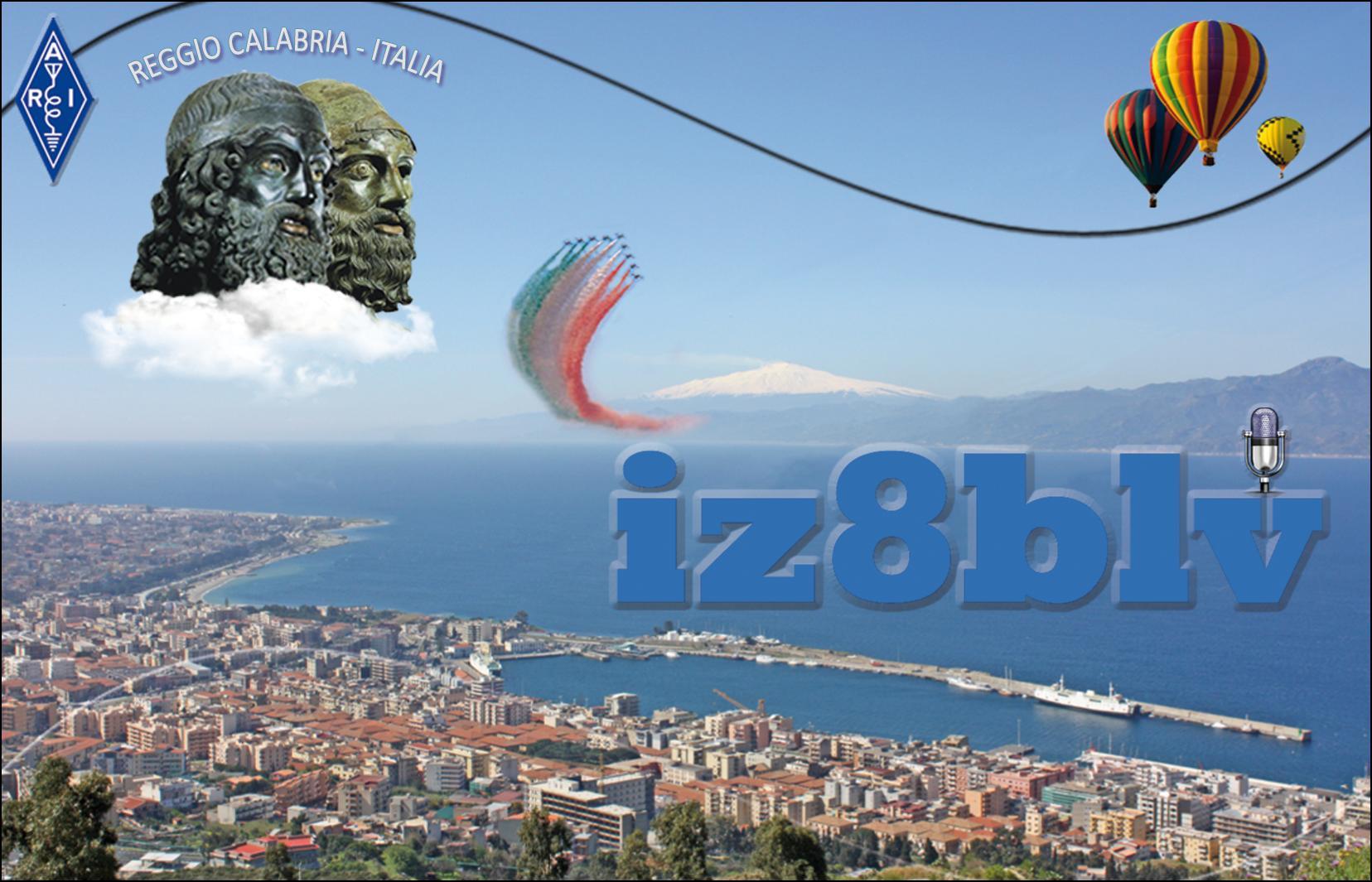 QSL image for IZ8BLV