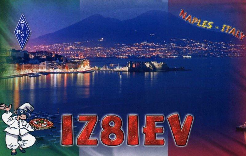 QSL image for IZ8IEV