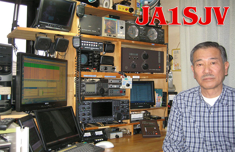 QSL image for JA1SJV
