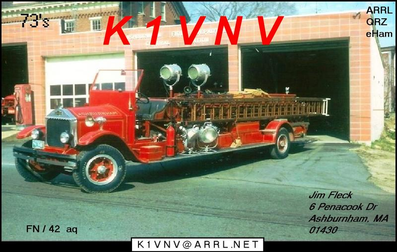 QSL image for K1VNV