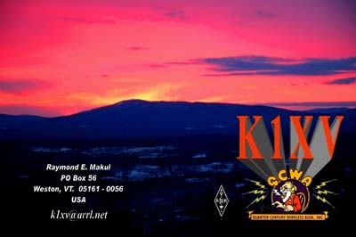 QSL image for K1XV
