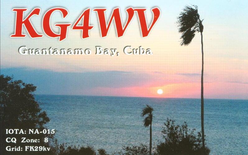 QSL image for KG4WV