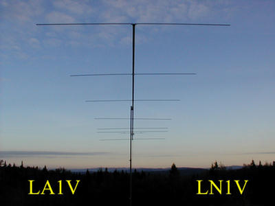 QSL image for LA1V