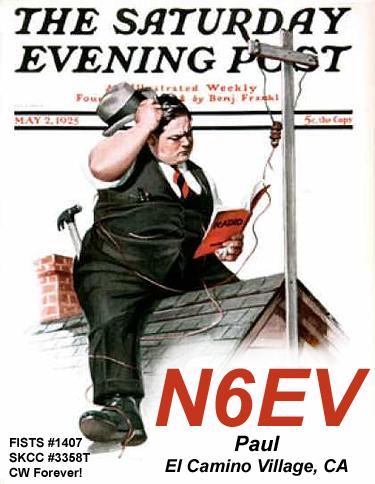 QSL image for N6EV