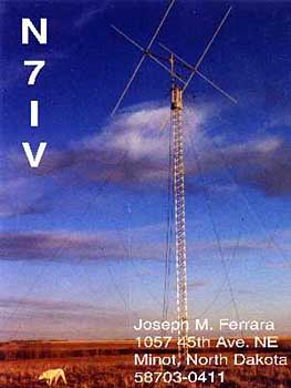 QSL image for N7IV