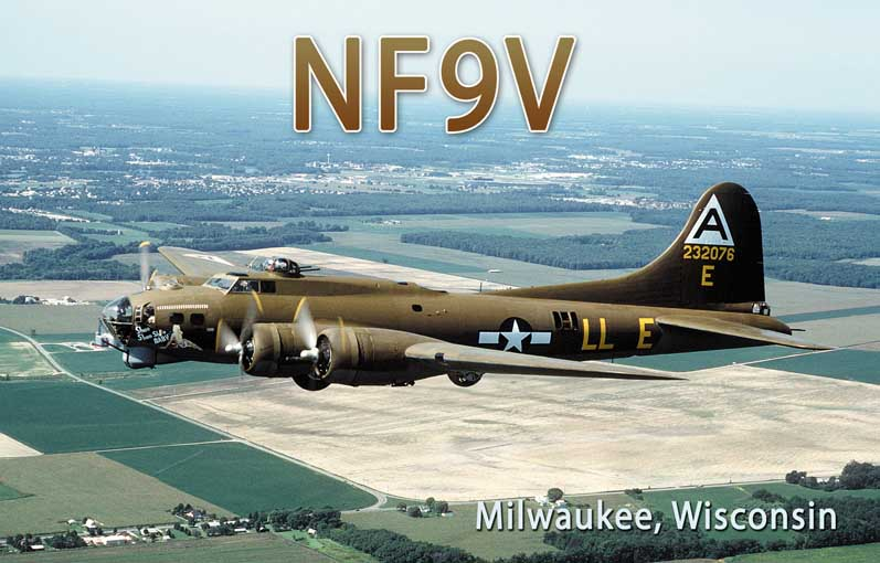 QSL image for NF9V