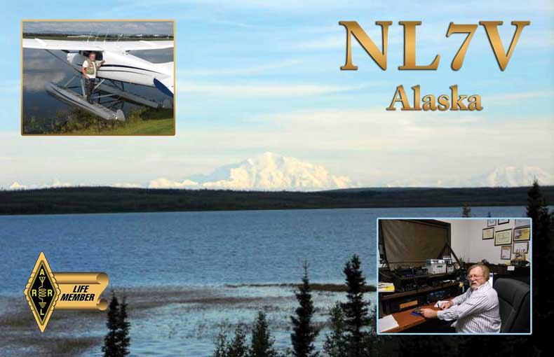 QSL image for NL7V