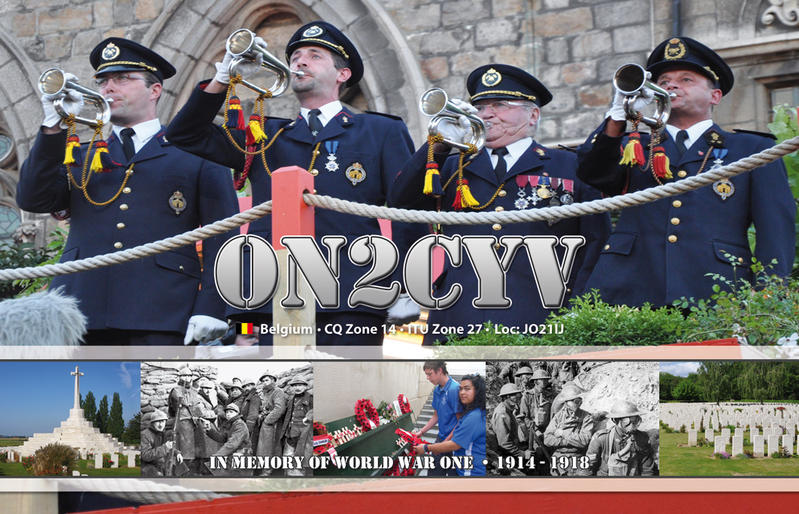 QSL image for ON2CYV